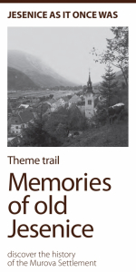 Leaflet Memories of old Jesenice