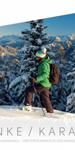 Winter adventures in the Karavanke
