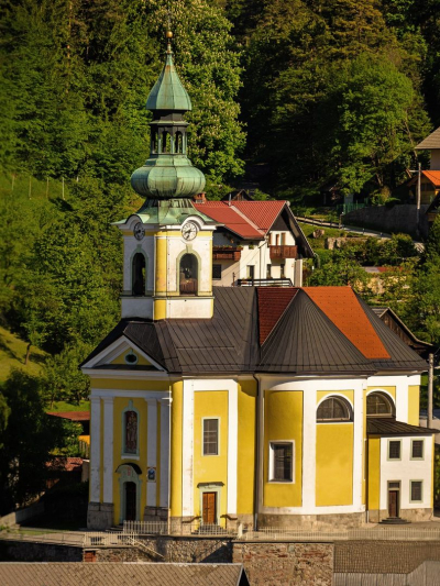 Church of St. Ingenuin and St. Albuin in Koroška Bela