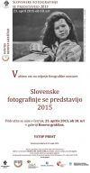 Slovenske fotografinje se predstavijo 2015