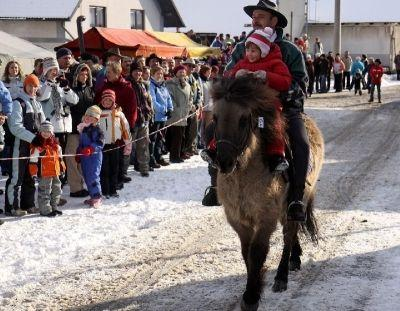 Blessing of horses in Blejska Dobrava (26th December)