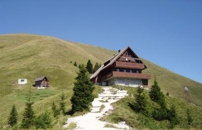 Mountain hut on Golica (1.582 m)
