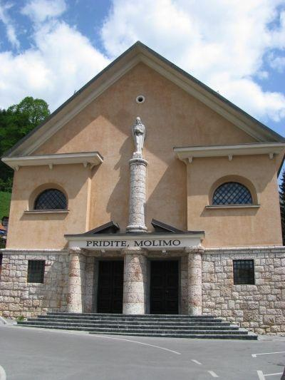 Church of St. Leonard in Jesenice