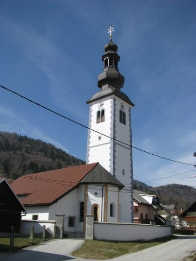 Church of St. Stephen in Blejska Dobrava