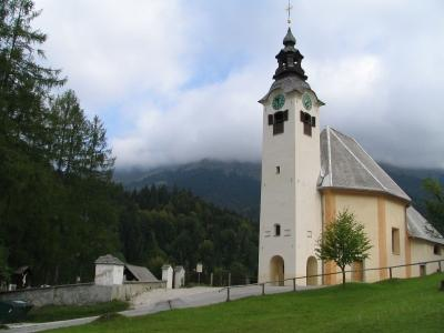 Church of Holy Cross in Planina pod Golico