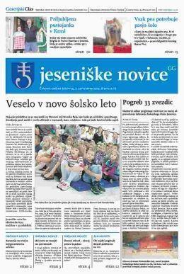 Jeseniške novice, 7. september 2012, št.16